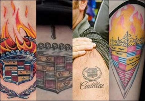 cadillac tattoo cadillac tattoos cadillac accessorizing