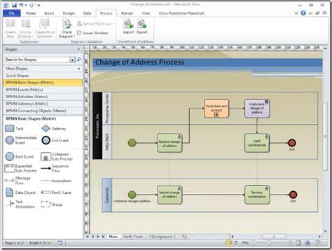 msdn visio license bpmn diagramming basics course available visio insights