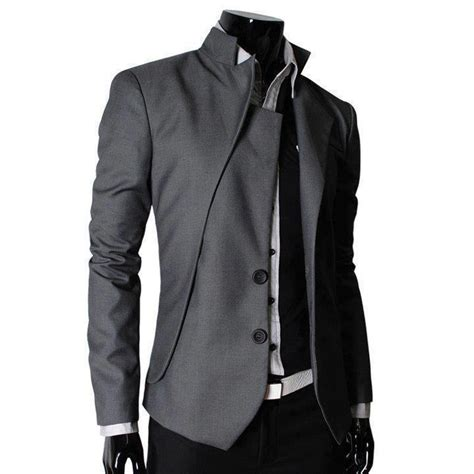 Style Grey Jas Blazer Pria Cowok Terbaru Korea Abu Pesta Kerja Wis jas pria murah menjual berbagai jenis pakaian model korea terbaru custemer servise