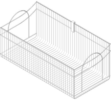 Closet Organizers Wire Baskets by Bim Objects Families