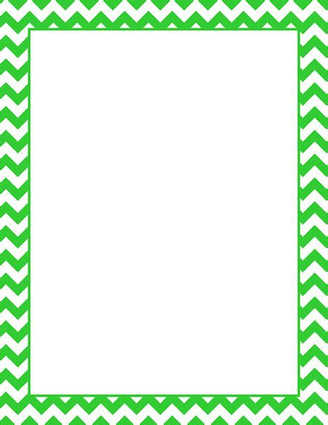 chevron border template printable lime green chevron border free gif jpg pdf