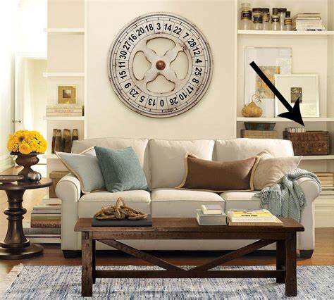 decorating pottery barn style running with scissors vintage crate for magazine storage