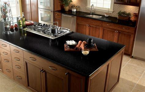black countertop kitchen black kitchen quartz countertop