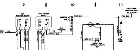 1988 ford ranger fuel relay location get free image