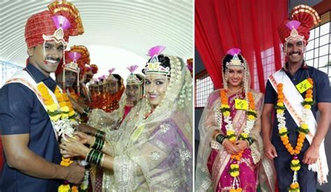 Lagira zhala Ji   Ajinkya and Sheetal Marriage Wedding