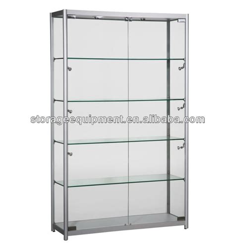 aluminium glass cheap display cabinets glass cabinet buy