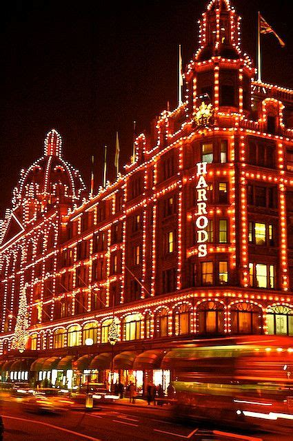 christmas lights at harrods diy pinterest