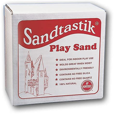 Playsand Shoppe play sand 25 lb the craft shop inc