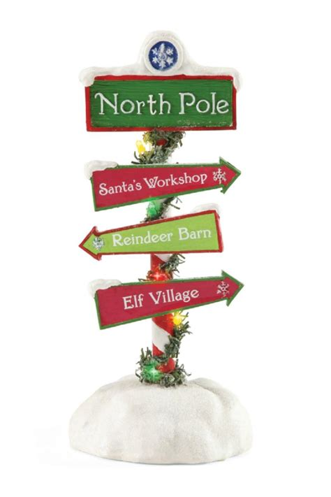 north light shop coupon dept 56 santa s northpole sign from florida by coastal