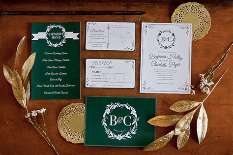 Sle Wedding Invitation Log by Mint Green And Gold Wedding Invitations Wedding