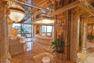donald trumps penthouse inside donald and melania trump s new york city penthouse 12 pics banned in hollywood