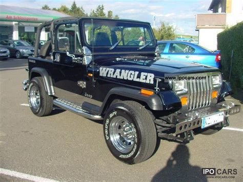 Jeep 4 0 Horsepower 1995 Jeep Wrangler 4 0 Car Photo And Specs
