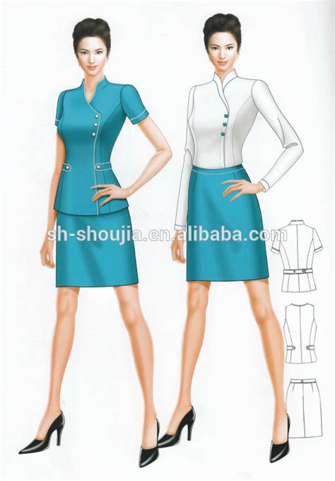 Office Uniforms Customized Fashion Business Suits For