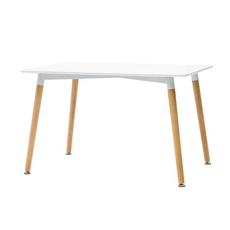 tavolo laccato tavolo rettangolare laccato bianco in mdf con gambe in faggio