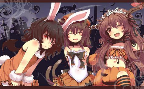 Anime Girl Halloween Wallpaper | anime halloween girl wallpaper hd wallpaper area hd