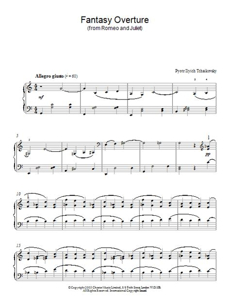 romeo and juliet theme related songs fantasy overture from romeo and juliet sheet music direct