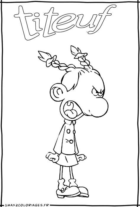 Nos jeux de coloriage Titeuf à imprimer gratuit - Page 7 of 8