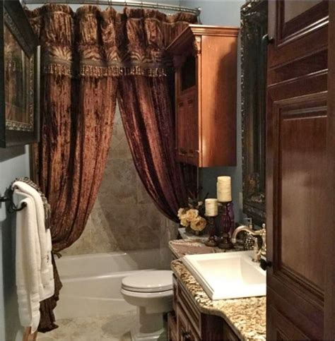 elegant bathroom shower curtains 1275 best images about interior design old world