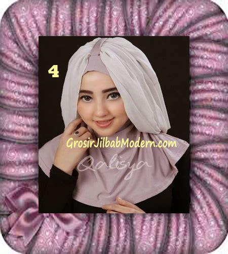 Jilbab Instan Qalisya jilbab syria unik trendy faustine original by qalisya brand no 4 grosir jilbab modern