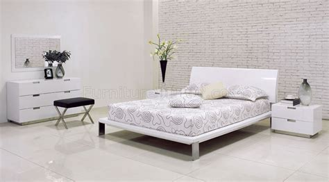 White Shiny Bedroom Furniture by White Shiny Bedroom Furniture Raya Furniture