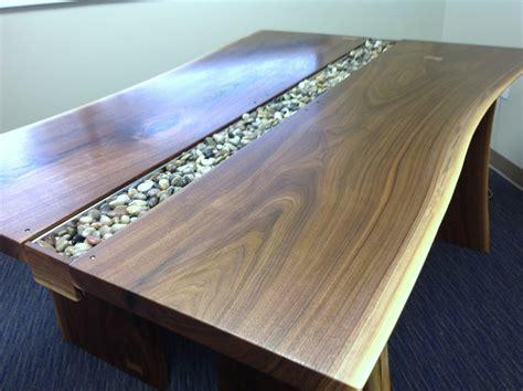 live edge slab table live edge black walnut slab conference table rugged cross woodworking