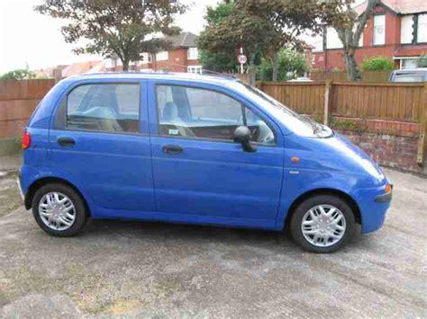 Matiz Auto by Daewoo 2000 Matiz Se Blue Car For Sale