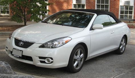 toyota camry solara toyota solara convertible photos reviews news specs