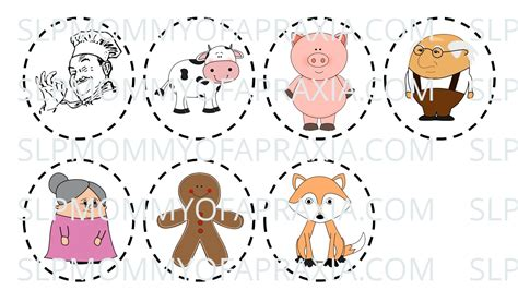 printable gingerbread man characters search results for sequencing gingerbread man calendar