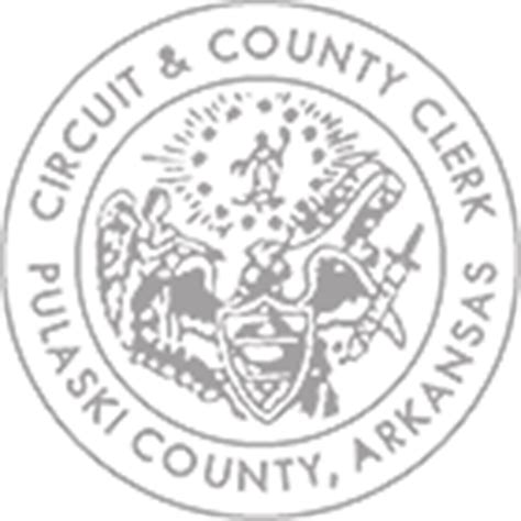 Pulaski County Court Records Arkansas Pulaski Circuit County Clerk