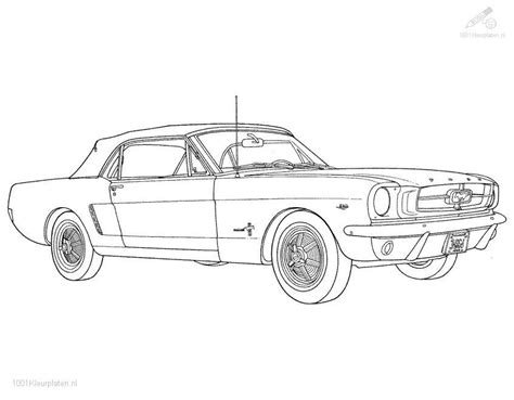coloring pages cars mustang ford mustang coloring page