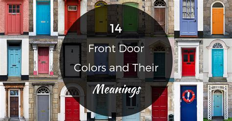 Front Door Colour Meanings Design Ultra Com Front Door Color Meanings