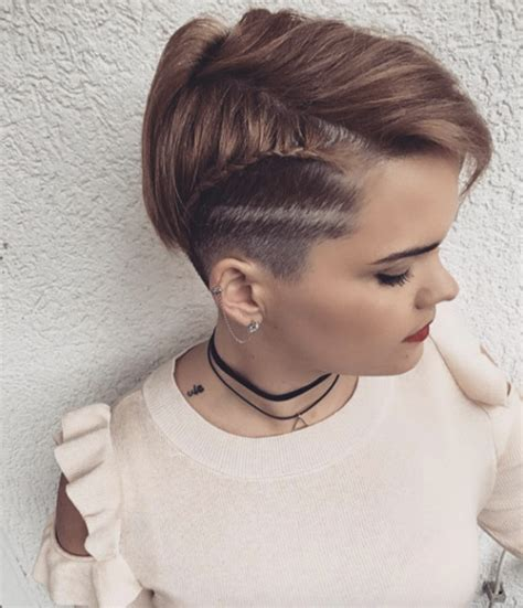 pixie braids shaved side 40 swoon worthy side shaved hairstyles style skinner