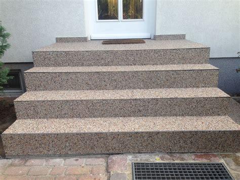 treppe steinteppich waermedaemmung der waende malerei