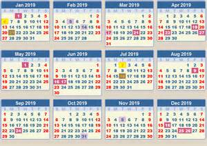 Mozambique Calendã 2018 Calendar 2019 School Terms And Holidays South Africa