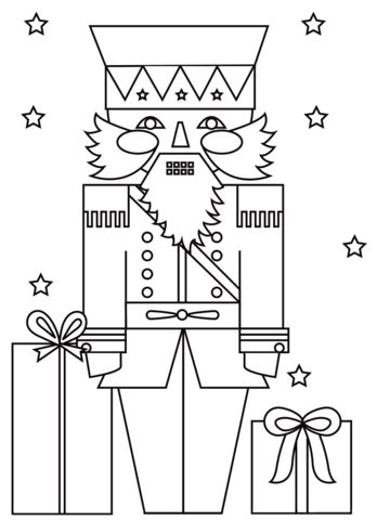 Nutcracker Coloring Pages To Print by Nutcracker Soldier Coloring Page Free