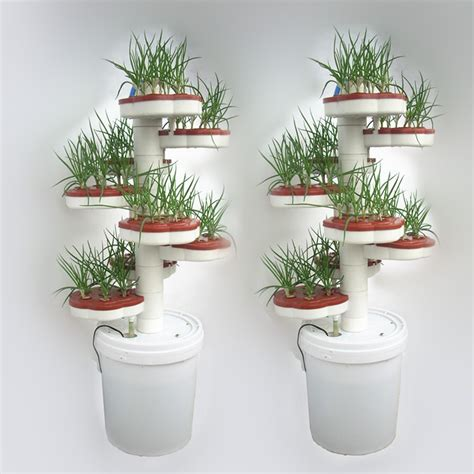 Herb Pot by Diy Standing Hydroponics System Nft With 56pcs Of Net Cup