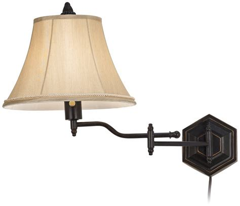 swing arm sconce plug in plug in wall ls swing arm black wall sconce lanett