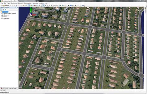 layout view in arcscene zerg s rumble