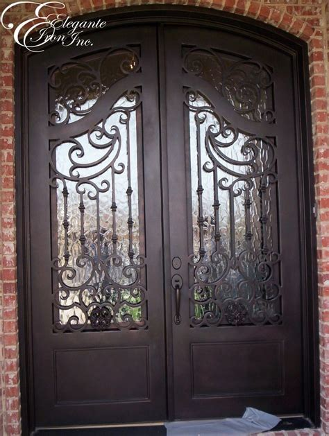 Exterior Iron Doors Custom Wrought Iron Front Door Doors
