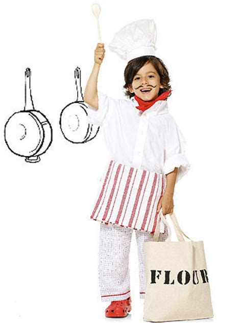 diy chef costume and easy diy costumes
