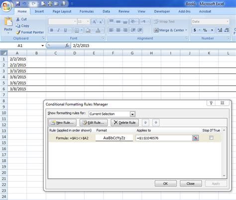 excel 2007 vba format cell borders excel vba conditional formatting border how to apply