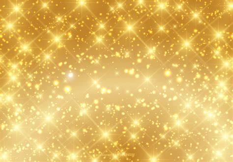 wallpaper glitter effect free vector beautiful gold sparkle background vector