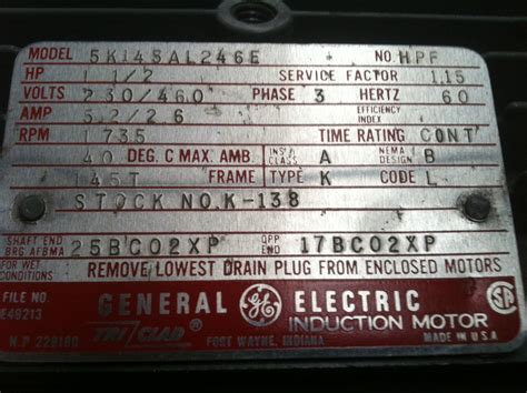 purchased  ge motor  ebay       wiring diagram  connection box