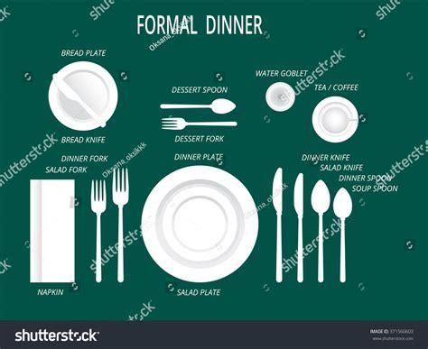 formal dinner setting setting a dinner table place setting dinner table