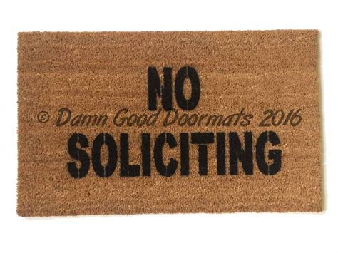 funny door mats no soliciting funny rude doormat damn good doormats