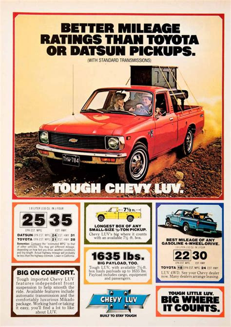 vintage toyota ad 70s madness 10 years of truck ads the