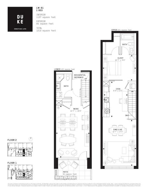 live work floor plans ground level live work units add to offerings at duke
