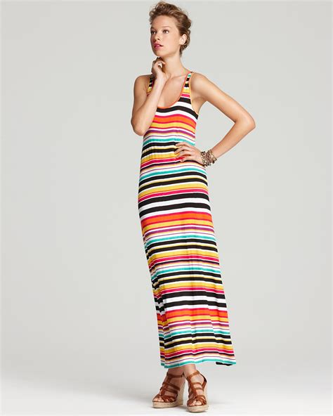 Striped Maxi Dress sleveeless striped maxi dress dresscab
