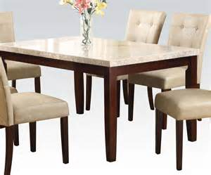Tables amp dining tables 187 britney elegant white marble top tapered