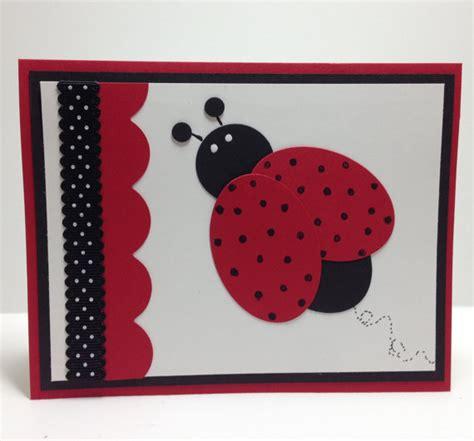 Handmade Birthday Cards For Teachers - ladybug punch handmade greeting card thank you